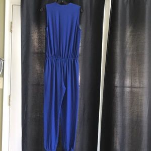 Lucky brand blue jumpsuit